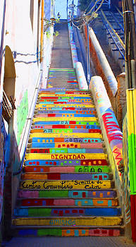 Kurt Van Wagner - Stairway to Heaven Valparaiso  Chile