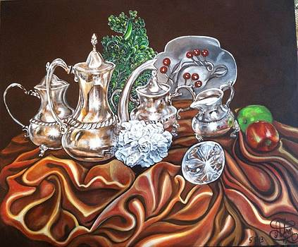 Study of Silver by Annette Jimerson