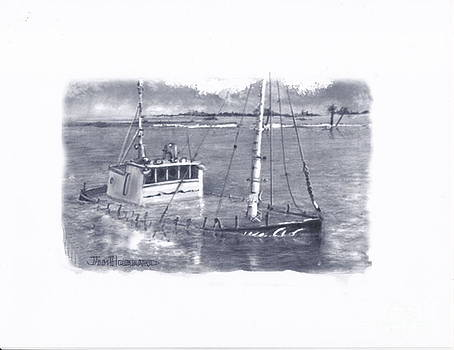 Jim Hubbard - Sunken Boat