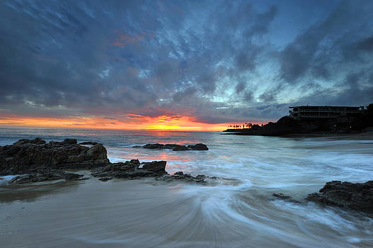 Sunset in Laguna Beach by Dung Ma