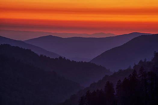 Sunset in the Smokies by Andrew Soundarajan