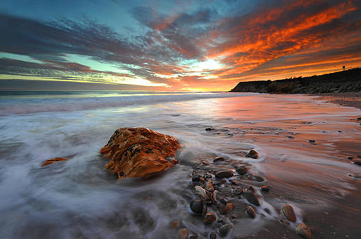 Sunset Refugio State Beach by Dung Ma