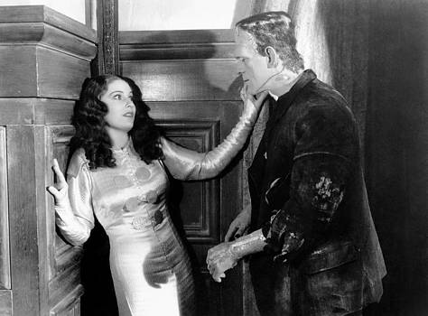 The Bride Of Frankenstein, From Left by Everett