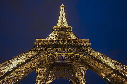 The Eiffel Tower at night by Ayhan Altun