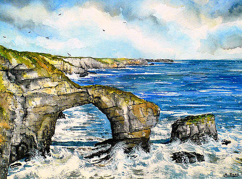 The Green Bridge of Wales by Andrew Read