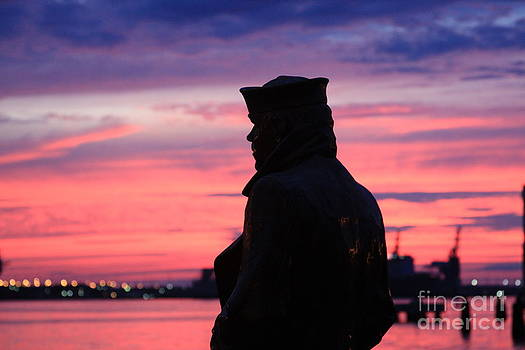 The Lone Sailor by Andrew Romer
