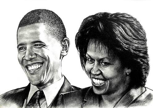 The Obama's by Todd Spaur