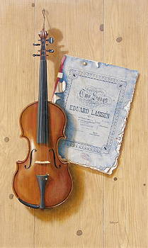 The violin by Barry Williamson