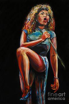 Tina Turner by Nancy Bradley