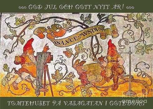 Tomtehuset GOD JUL by Leif Sodergren