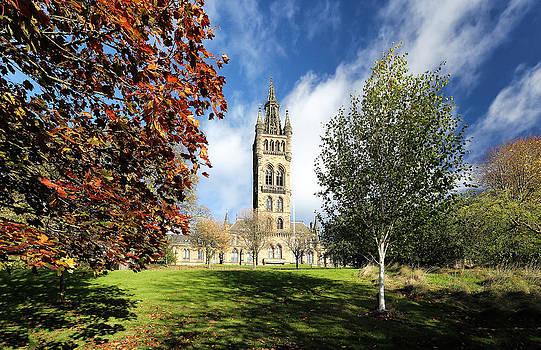 University of Glasgow by Grant Glendinning