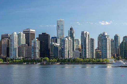 Vancouver Skyline by Volodymyr Kyrylyuk