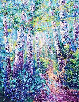 Walk in the Woods 1 by Irene Hurdle