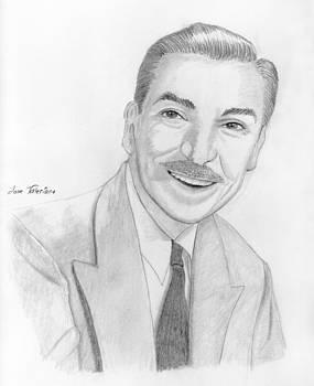 Walt Disney by Jose Valeriano