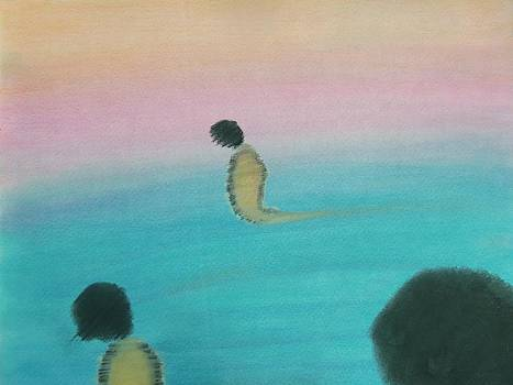 Wandering Souls  by Mario  Carter