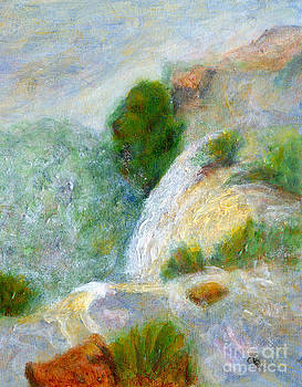 Waterfall in the Mist by Arlene Babad