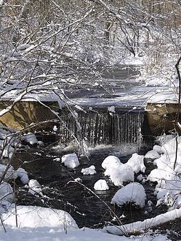 Winter Waterfall by Patricia McKay