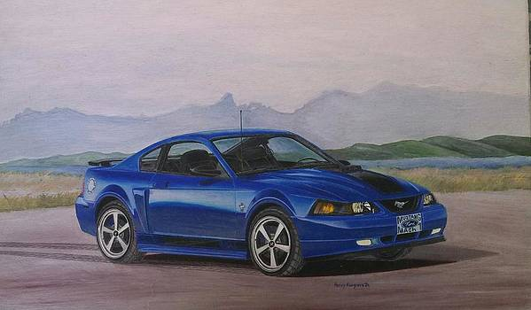 2003 Ford Mustang Mach 1 by Henry Hargrove
