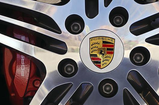 Jill Reger - 2008 Porsche Turbo Cabriolet Wheel Rim