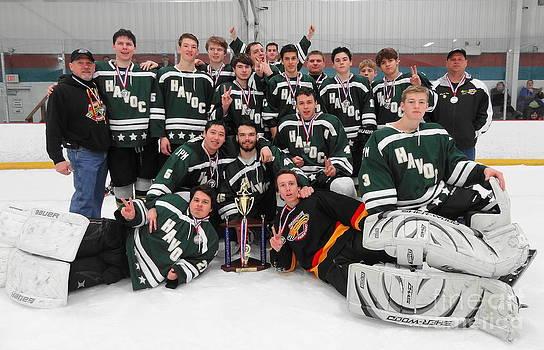 2013 - 2014 Harrington Havoc Hockey Team by John Velasquez