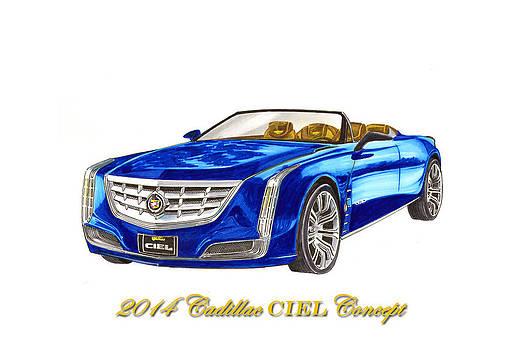 Jack Pumphrey - 2014 Cadillac CIEL Concept