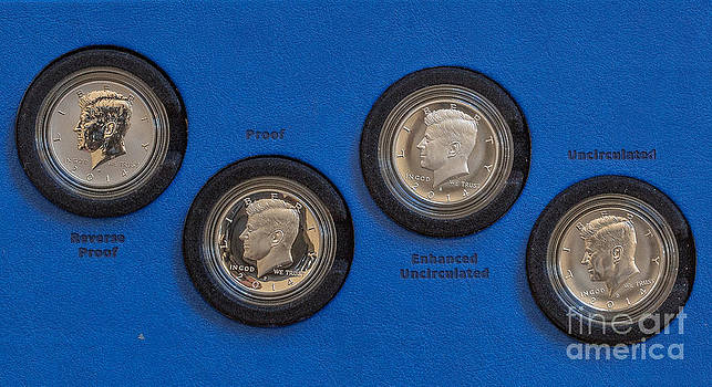 Randy Steele - 2014 Kennedy Half Dollar Silver Coin Set