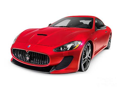 2015 Maserati GranTurismo MC Centennial Edition luxury car by Oleksiy Maksymenko