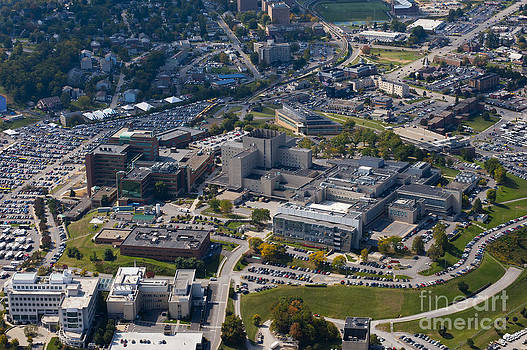 Dan Friend - aerials of WVVU campus