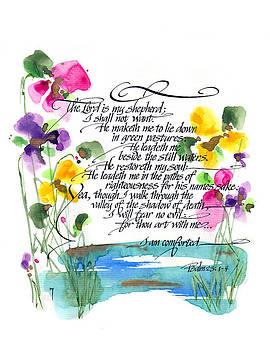 23rd Psalm by Darlene Flood