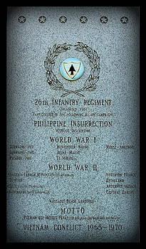 Rosanne Jordan - 26th Infantry Regiment History