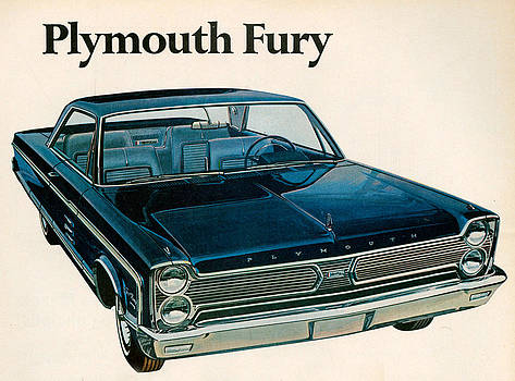 1960s Usa Plymouth Magazine Advert by The Advertising Archives