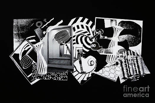 Xueling Zou - 2D Elements in Black and White