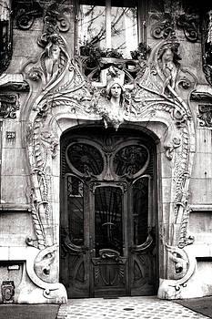 Art Nouveau Doorway - Paris by SFPhotoStore