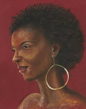 Beautiful Lady by Prakash Leuva