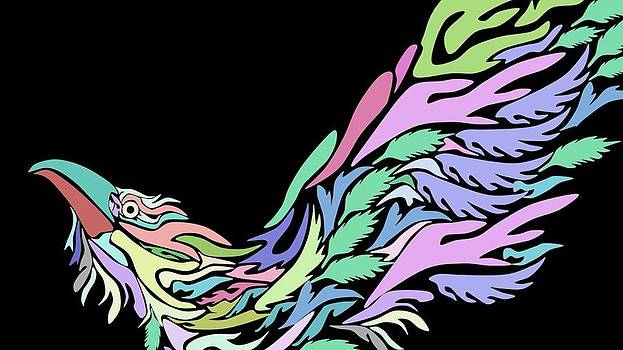 Bird by Moshfegh Rakhsha