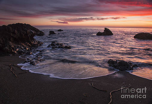 Cambria Sunset by Jose M Beltran