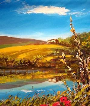 Casolare Sul Lago by Sandro  Mulinacci