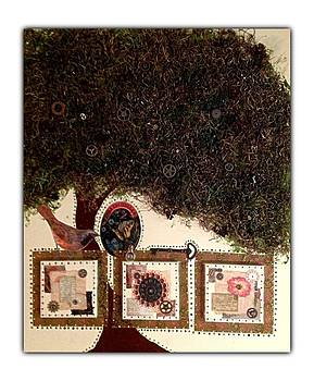 Celtic Tree of Life  by Schroder Konate