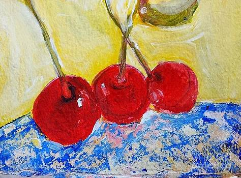 3 Cherries by Sherry Harradence