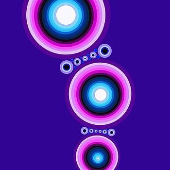 Circle Motif 125 by John F Metcalf