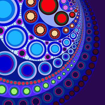 Circle Motif 147 by John F Metcalf