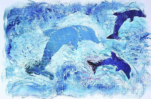 3 Dolphin PLAY by Shelley Myers