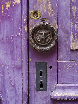 BERNARD JAUBERT - Door with peeling paint