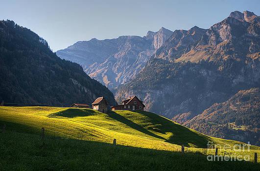 Engelberg valley by Caroline Pirskanen