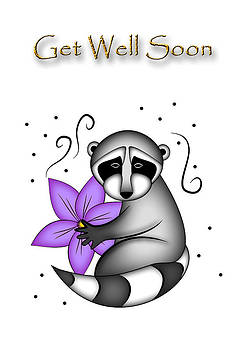 Jeanette K - Get Well Soon Raccoon