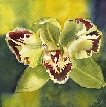 Alfred Ng - green orchid