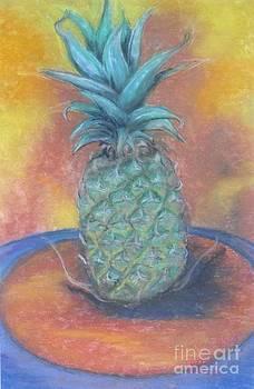 Happy Pineapple by Sharon Wilkens