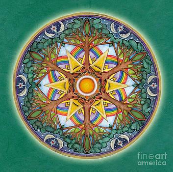 Heaven and Earth Mandala by Jo Thomas Blaine