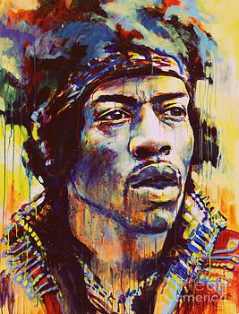 Jimi Hendrix  by Marta Zawadzka