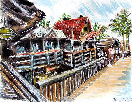 John's Pass Village by Douglas Durand